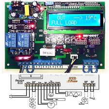 GreenLogic - wood PELLET Burner Controller for heaters/boilers