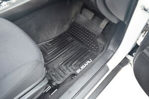 Rugged Rubber Floor Mats Tailored Heavy Duty for Subaru Forester S3 2008-12
