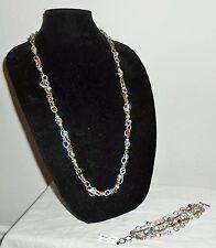 NWT BRIGHTON Extra Long Metal Play Set Bracelet Necklace Belt JN2842 JB1322