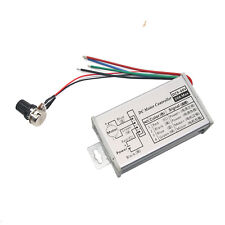 Pwm Dc Motor Stepless Variable Speed Control Controller Switch 12 24v Max 20a