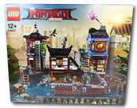 The LEGO Ninjago Movie City Hafen 70657 NEU OVP & VERSIEGELT BLITZVERSAND