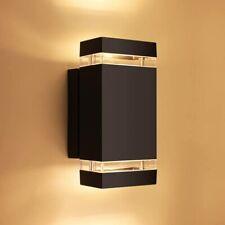 Lutec Wall Light 6050 Square Up Down Sconce Fixtures Outdoor Indoor Waterproof