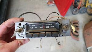 DATSUN RADIO 180B 200B STANZA SUNNY DATSUN B110 B210 120Y 240K 260Z 1200 B10