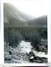 photo.vallée du Marcadau .envir. de Cauterets.en descendant de la grande Fache