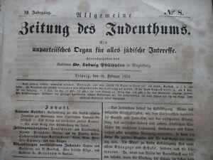 1855 Juden in Beneschau  Benešov Nachruf Samson Frank