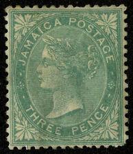 Jamaica   1863  Scott # 3  Mint Lightly Hinged