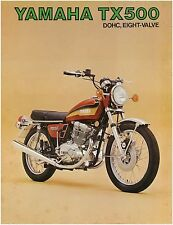 YAMAHA Brochure TX500 1973 Studio Shot Sales Catalog Catalogue REPRO