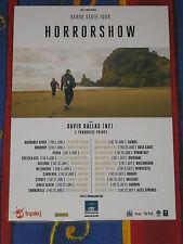 HORRORSHOW - 2017  BARDO STATE Australian Tour - Laminated Promo Poster - NEW