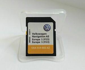 2021 V13 VW AS Discover Media Navigation GEN2 Map Europe SD Karte Card Europa
