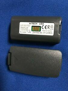 2 batteries(Japan Li2.6A)For Honeywell DOLPHIN 7900,9500,9900/LXE MX6#2000591-01