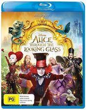 Alice Through The Looking Glass (Blu-ray) Adventure Family Fantasy Johnny Depp