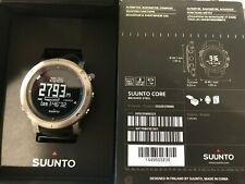 SUUNTO Core Brush Steel Watch Altimeter Barometer Compass SS020339000