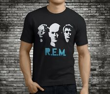 New Popular R.E.M. Rem Alternative Rock Band Black T-Shirt Size S-3Xl