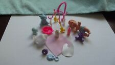 Vintage 1970s Mattel Barbie Baby Krissy Doll Lot Figure + Accessories Toy