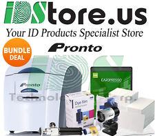 Magicard Pronto Uno ID Card Printer Single Side Bundle Deal Complete System