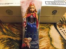 "Disney Frozen Sparkle Anna of Arendelle 12"" Doll*NIB* 2013 Mattell.  Girls 3+"