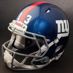 ODELL BECKHAM JR. Edition NEW YORK GIANTS Riddell Speed REPLICA Football Helmet