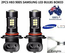 2X 9005 HB3 9145 H10  6000K WHITE LED PROJECTOR DRL FOG DRIVING LIGHTS BULB