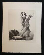 A. Paul Weber, Vorsicht! […], Lithographie, 1989, aus dem Nachlass