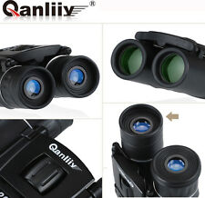 QANLIIY 20X22 Pocket-Size Zoom Mini Portable Waterproof HD Binoculars Telescope