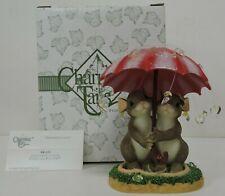 Fitz And Floyd Charming Tails Showered In Love Figurine 84/121