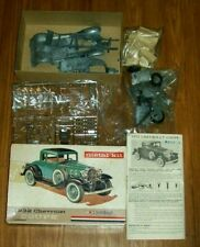 HUBLEY Unassembled 1932 Chevrolet Coupe Metal Kit No. 4869-400 COMPLETE