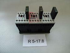 3 Stück Siemens 3RT1015-1BB42,Tension de la bobine 24V+Murr électronique 26504