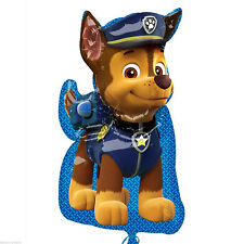 """31"""" Paw Patrol Puppy Pets CHASE Helium Children's Party Foil Birthday Balloon"""