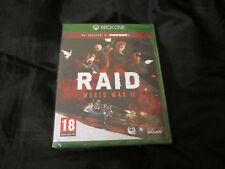 XBOX ONE : RAID WORLD WAR II 2 - Nuovo, sigillato, ITA !