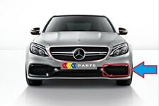 NEW GENUINE MERCEDES BENZ MB C63 W205 AMG FRONT BUMPER LOWER GRILL LEFT N/S