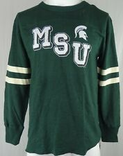 Michigan State University Spartans NCAA Fanatics Men's Long Sleeve Shirt