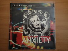 """LEISURE PROCESS-""""Anxiety/Company""""-UK 7""""-PS-EPIC A3405 (Positive Noise)-UNPLAYED"""