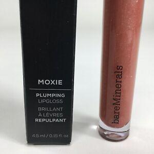 bareMinerals Moxie Plumping Lipgloss SPARK PLUG 0.15 oz