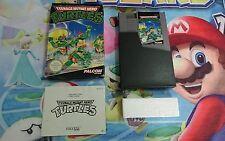 Juego Completo Nintendo Nes Teenage Mutant Hero Turtles Pal B 100% Original CIB