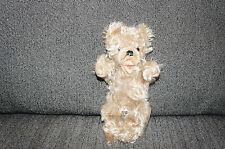 Antique SMALL STEIFF MOHAIR Teddy Bear Plush Doll Germany Zotty Vintage Old Toy