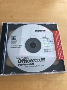 Office  Professional Word Excel Access Power and Outlook and Publisher-2CD