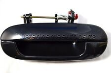 Black Smooth Outside Outer Exterior Door Handle Left Rear Driver Side