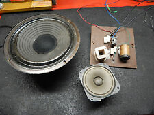 Marantz Imperial 5 Speaker Parts-Woofer-Tweeter and Crossover