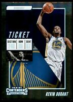 2018-19 Panini Contenders Playoff Ticket #8 Kevin Durant /199