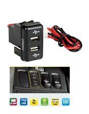 empotrado ESCAPE DOBLE / CARGADOR USB Camión Volvo FH FH12 Pieza Oem 12/24v