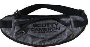 New SCOTTY CAMERON GALLERY Go Bag Waist Pack Charcoal Fanny Pack Large Golf