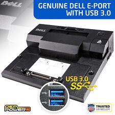 DELL Docking Station E6230 E6320 E6330 E6410 E6440  E-Port Replicator USB 3.0