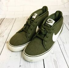 dd966252ba37f4 Nike Casual Canvas Shoes Green Size 9