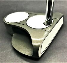 NEW WAVE LONG PUTTER, 2-BALL ALIGNMENT, STEEL SHAFT, WRAP GRIP, RH, 44-49 INCHES