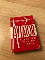 Aviator Poker Size Playing Cards One Deck Collectible
