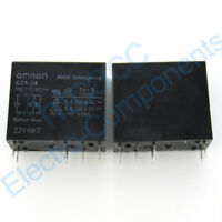 G2R-24 110VAC General Purpose Relay 5A 110VAC 8 Pins New 2PCS