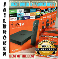 UNL0CK3D AMAZON FIRE TV BOX 4K TOP BUILD 2017 H@CKED APPS MANY OPTIONS AVAILABLE