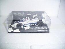 Minichamps 1:43 Brabham BT49C Winkelhock Paul Ricard Test 1981 NRFB