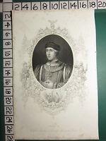 C1830 Antico Stampa ~ Henry VI