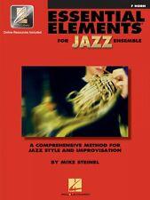 Essential Elements for Jazz Ensemble F Horn A Comprehensive Method 000841622
